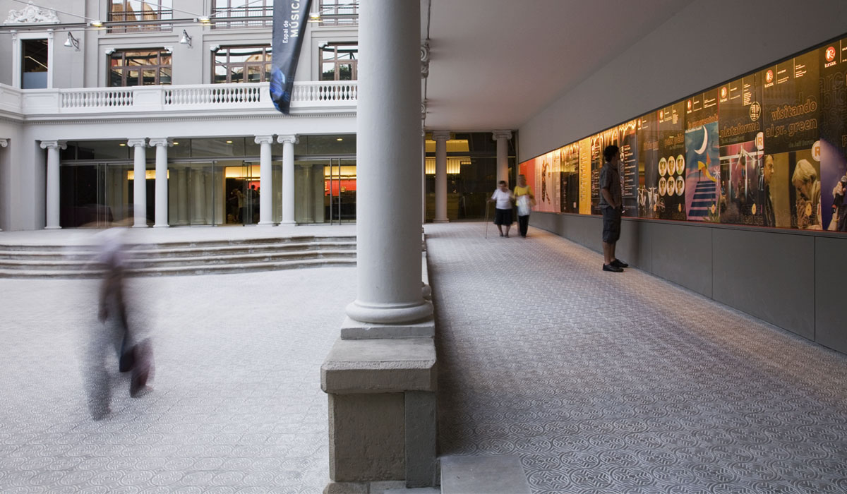 2007. Reforma del Teatre Kursaal, Manresa