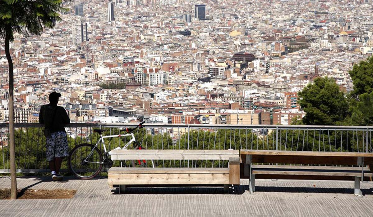 2010. Paseo de los Cims de Montjuïc, Barcelona